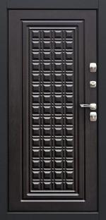 Входная металлическая дверь ДК модель Контур Венге