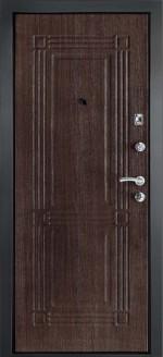 Входная металлическая дверь ДК модель Лайн-1 Венге